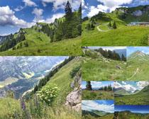 草原风景蓝天摄影高清图片