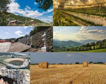 山庄与景点摄影高清图片