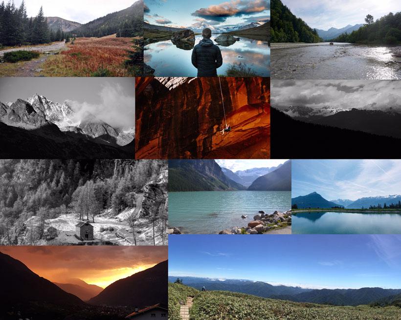 山水风景拍摄高清图片