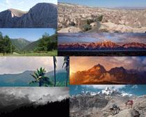 山川自然风景摄影高清图片