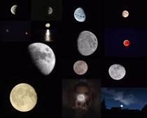 美丽的月亮摄影高清图片