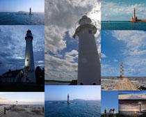 瞭望塔风景摄影高清图片