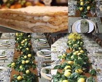 水果面饼摄影高清图片