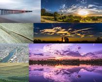 美丽自然风景天空摄影高清图片