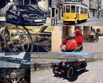 古典式汽车摄影高清图片