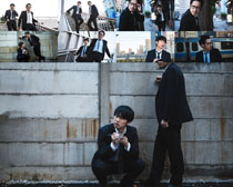 韩国商务男士摄影高清图片