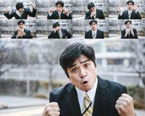 表情韩国男人拍摄高清图片