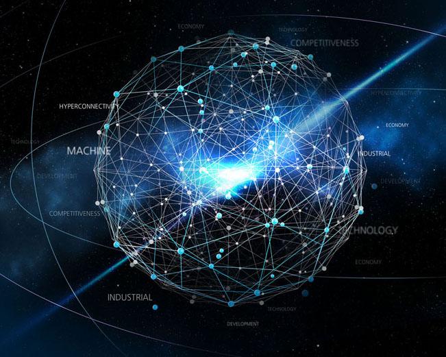 商务科技球形PSD素材