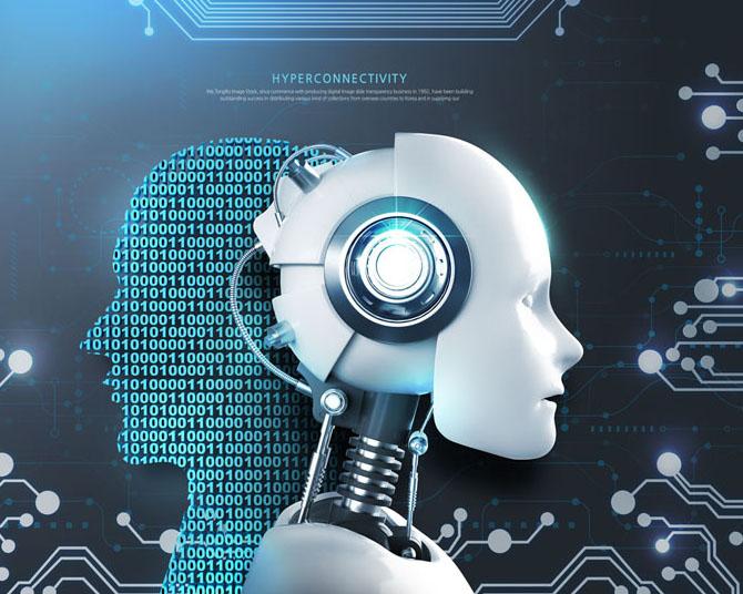 机器人科技数码PSD素材