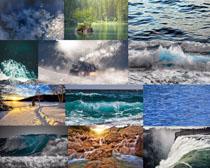 大海风光背景摄影高清图片