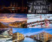 国外建筑风光拍摄高清图片