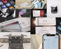 卡片与商务工具摄影高清图片