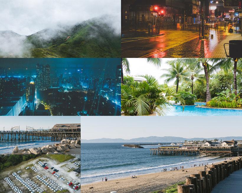 美丽风光与城市摄影高清图片
