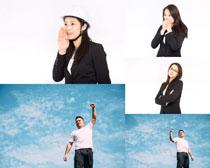 职业工作人物拍摄高清图片