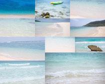 美丽的大海沙滩摄影高清图片