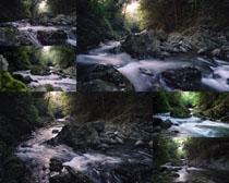小溪风景拍摄高清图片