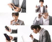 韩国商务男人摄影高清图片