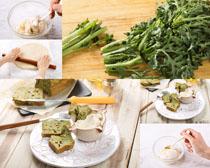 面包食物蔬菜摄影高清图片
