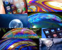 苹果数码背景摄影高清图片