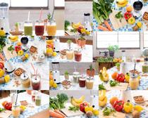 果汁饮料展示拍摄高清图片
