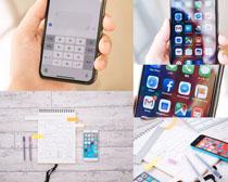 商务数码手机拍摄高清图片