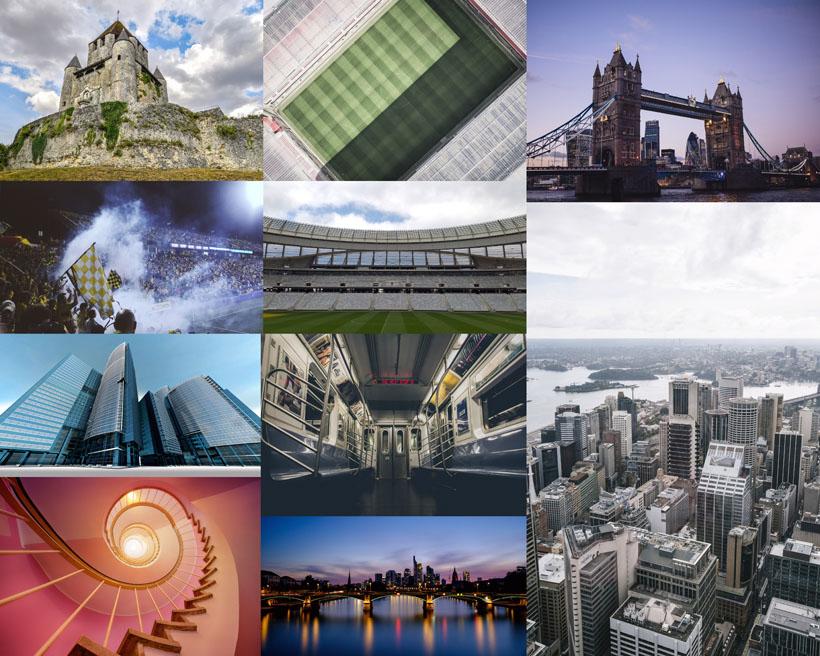 建筑城市風景拍攝高清圖片