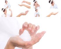 手部护理女人拍摄高清图片