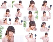 爱美女孩写真拍摄高清图片