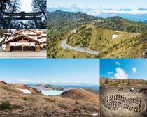 风景山峰摄影高清图片