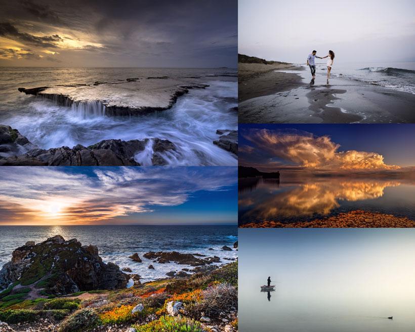 海边美丽风景拍摄高清图片