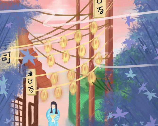 日本卡通绘画插画PSD素材