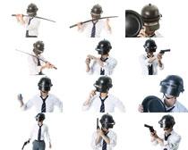 防爆專家人物攝影高清圖片