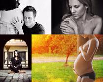 孕妇女人写真拍摄高清图片