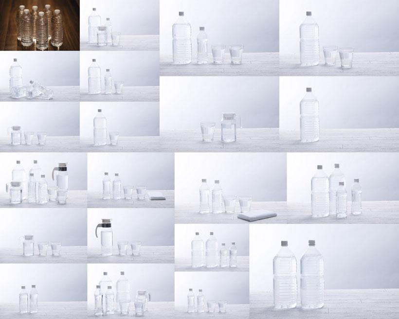 矿泉水展示拍摄高清图片
