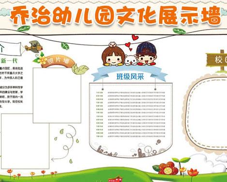 幼儿园文化展示墙时时彩投注平台