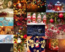圣誕節裝飾物展示拍攝高清圖片