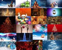 圣誕節日背景拍攝高清圖片