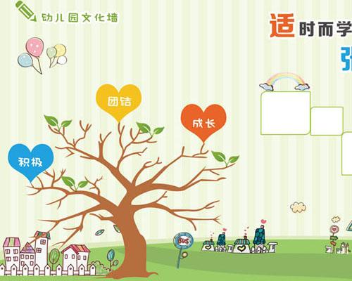 幼儿园文化墙展示时时彩投注平台
