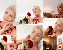 玫瑰花与女人拍摄bbin电子游戏娱乐城