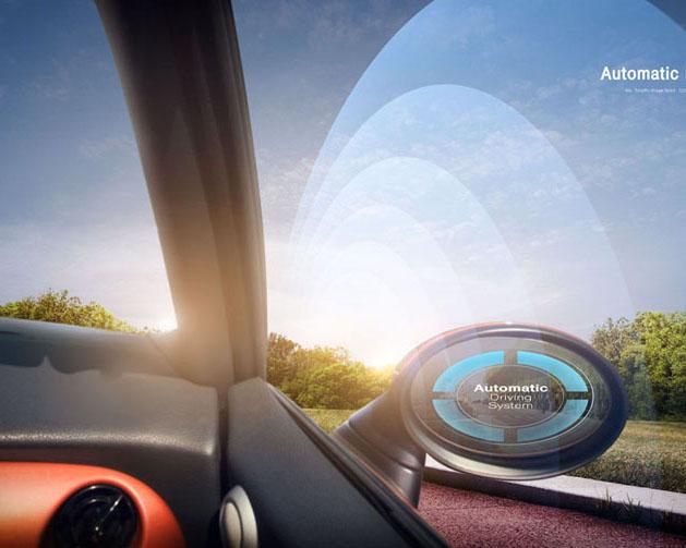 汽车先进技术展示PSD素材