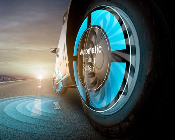 未来汽车发展展示PSD素材
