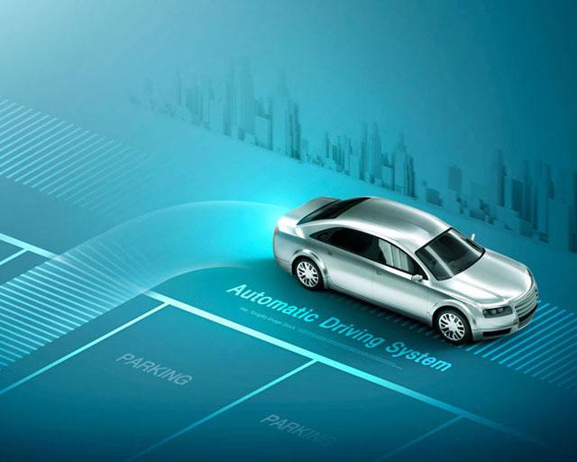 汽车道路技术PSD素材
