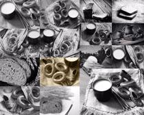 面包食材早餐摄影高清图片