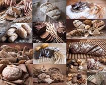 早餐食物面包拍摄高清图片