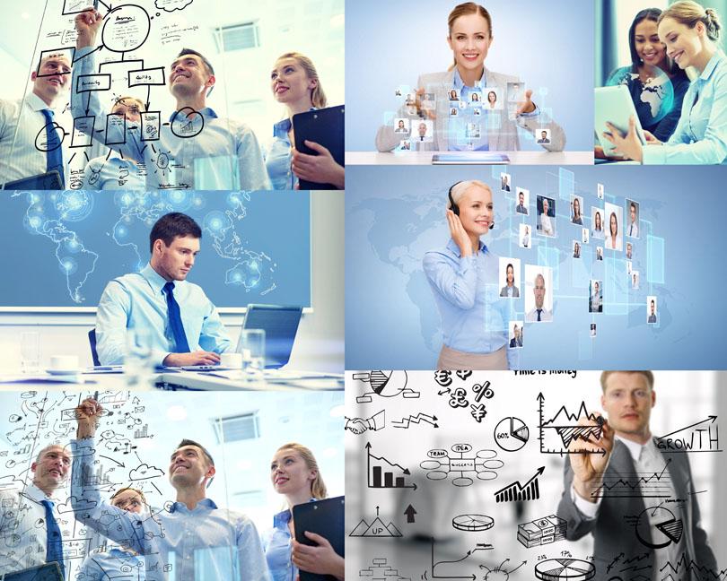 商业科技职业人士摄影高清图片