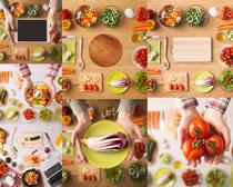 营养蔬菜操作摄影高清图片