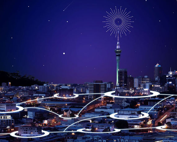 未来科技城市发展PSD素材