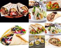 老北京卷条食物拍摄高清图片