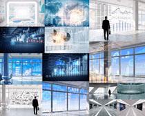 商務科技大數據展示攝影高清圖片