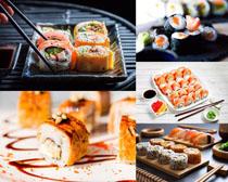 寿司食物展示摄影高清图片